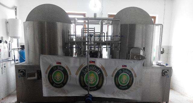 Návštěva Svätojánský pivovar